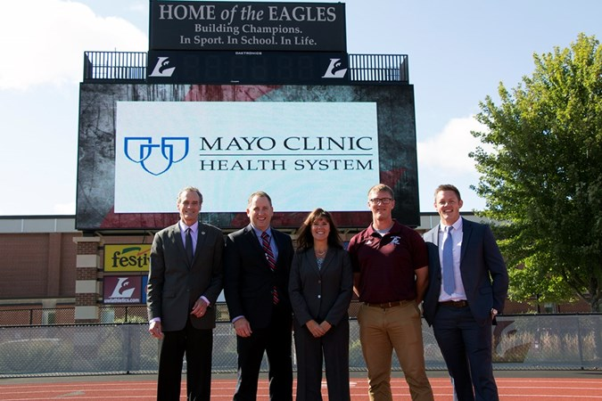 UWL Announces Sponsorship with Mayo Clinic Health System