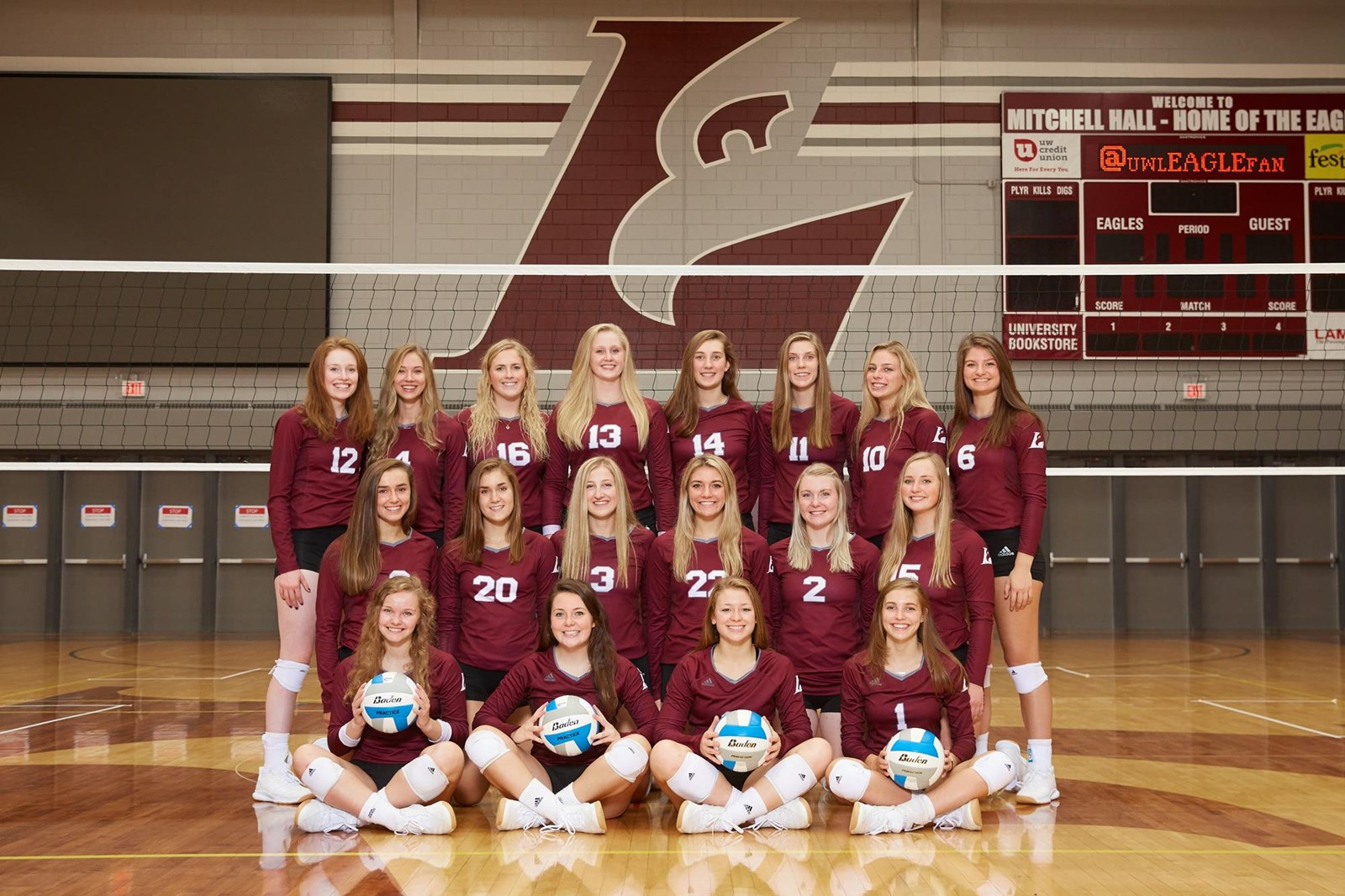 2019 Women S Volleyball Roster University Of Wisconsin La Crosse Athletics
